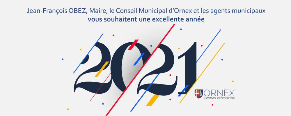Banner Bonne année 2021